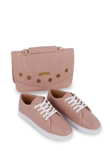 Gob London Sneakers Pudra